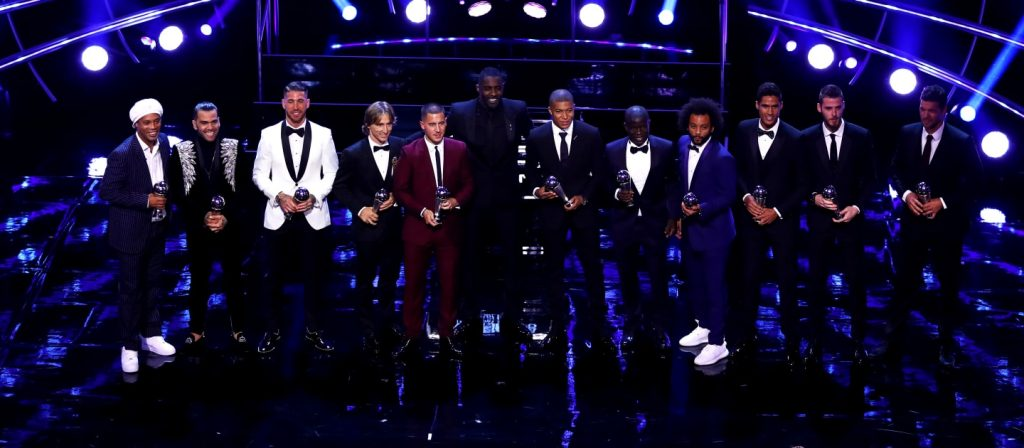 The FIFA FIFPro World11 2018